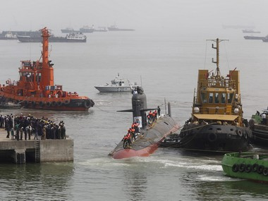 Indian Navy's Scorpene submarine INS Kalvari. Reuters
