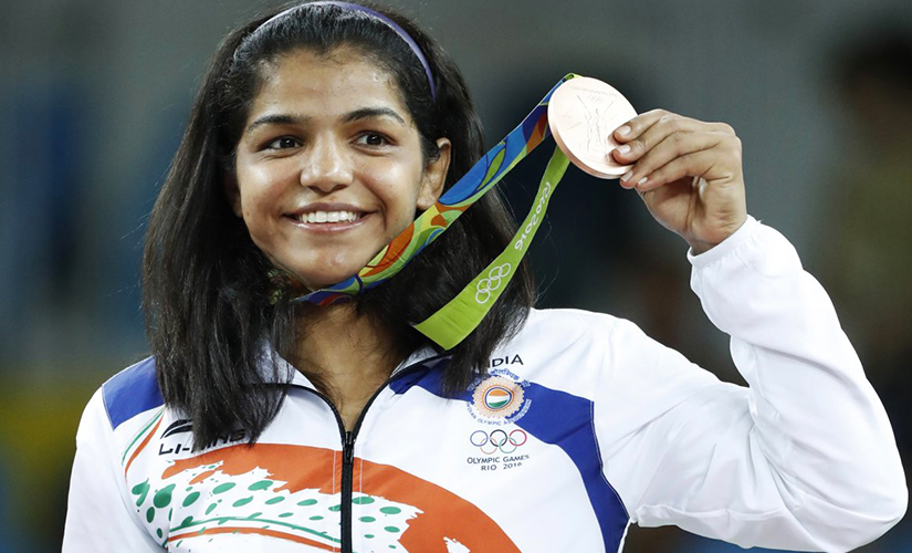 File photo of Sakshi Malik. AFP