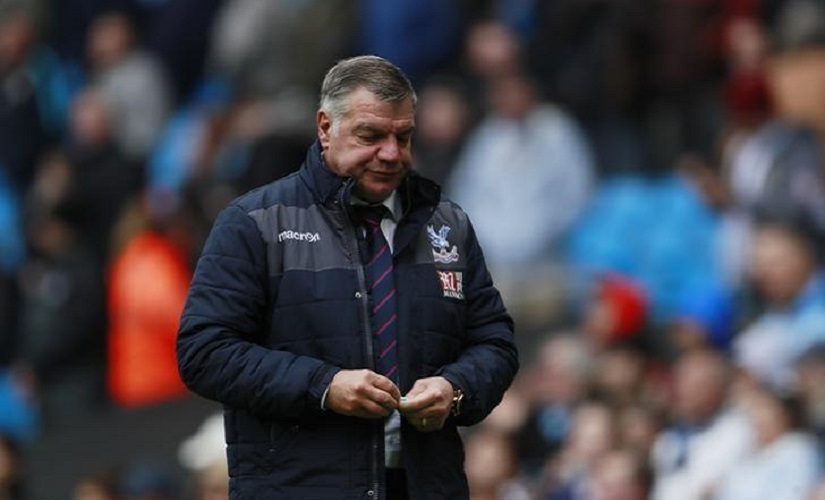 File image of Crystal Palace manager Sam Allardyce. Reuters