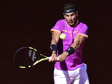 File image of Spain's Rafael Nadal in action. AFP