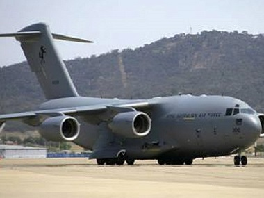 File image of the Boeing C-17A Globemaster III military airlift aircraft. Reuters