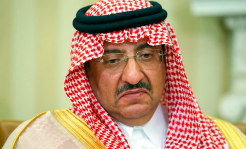 Saudi Arabian Crown Prince Mohammed bin Nayef who was removed from his position on Wednesday. AP