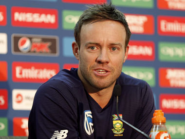 File image of South Africa's AB de Villiers. Reuters
