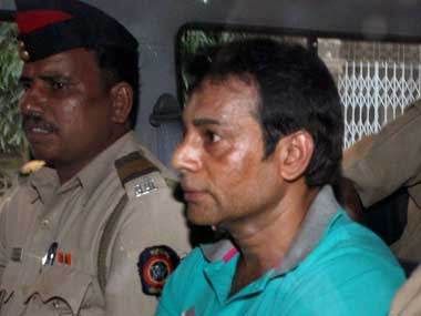 File image of gangster Abu Salem. PTI