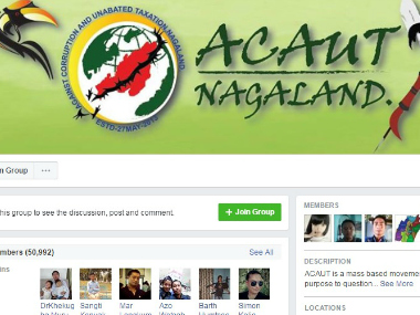 A screenshot of ACAUT's group page on Facebook.