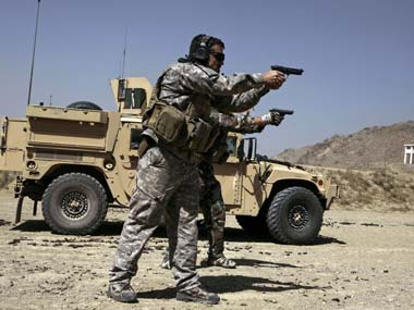 American troops' presence in Afghanistan is likely to be a hot topic of discussion. AP file image