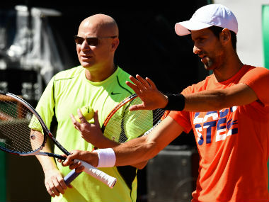 Andre Agassi had many offers but he chose to coach Novak Djokovic. AFP