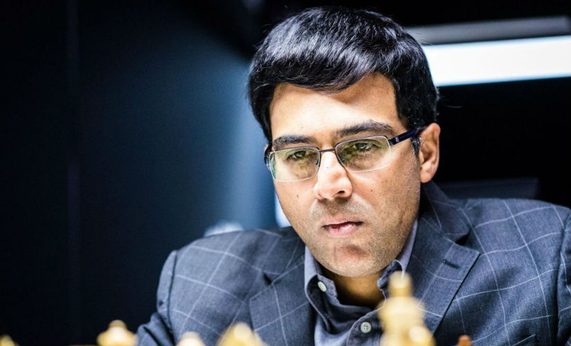 Always a hard nut to crack is the five-time World Champion- Viswanathan Anand (image courtesy: Lennart Ootes)