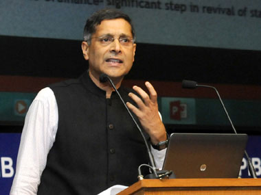 File image of Arvind Subramanian. Courtesy: PIB