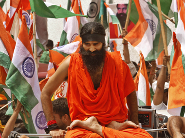 File image of Baba Ramdev. AP