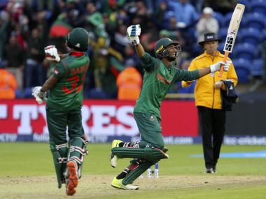 Bangladesh nearly came back from the dead to beat New Zealand in Cardiff. AFP