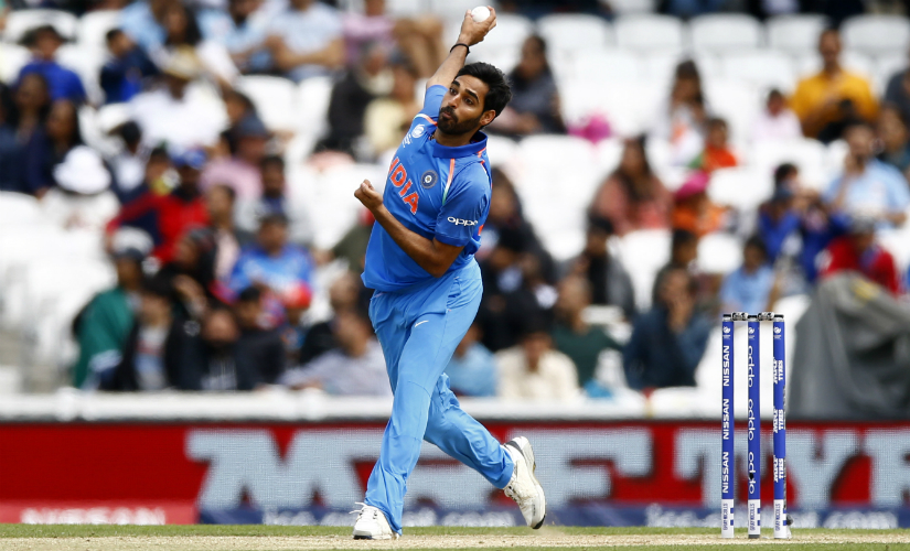 WIll Bhuvneshwar Kumar swing it India's way in the semi-final? Reuters