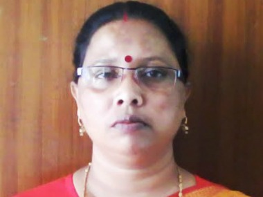 File image of Bijita Nath. TSPCB website