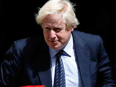 File image of Boris Johnson. AP
