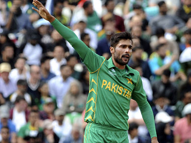 File photo of Mohammad Amir. AP