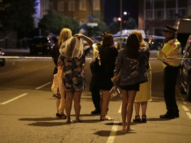 Terror struck London in the early hours of Saturday. AP