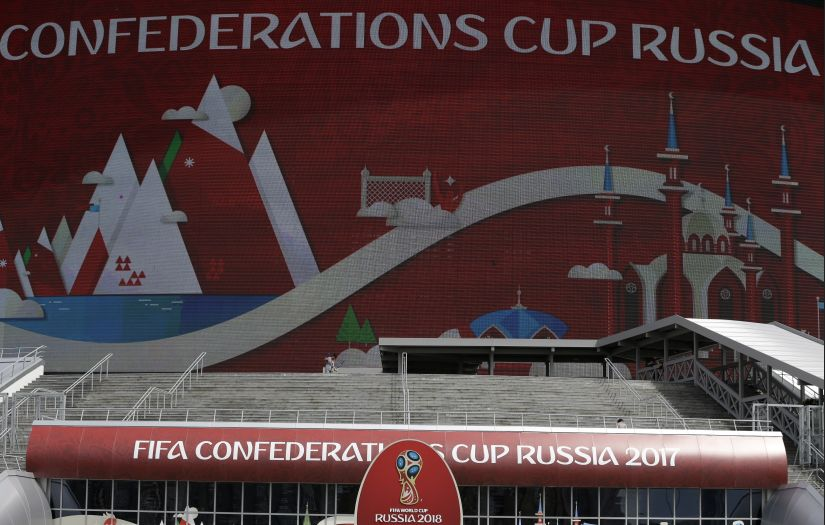 The Confederations Cup has four host cities as Russian government has imposed a package of security measures. AP