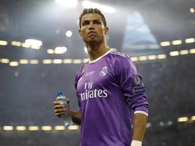 File image of Real Madrid's Cristiano Ronaldo. Reuters