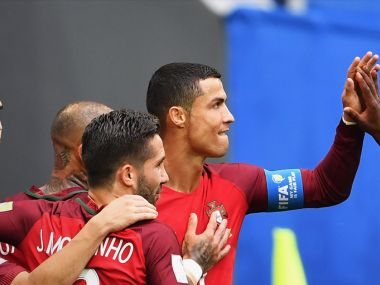 Cristiano Ronaldo netted his 75th International goal to help Portugal thrash New Zealand 4-0 in the FIFA Confederations Cup. Twitter/@ConfedCup