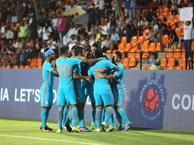 India shifts focus to the AFC Cup qualifiers match against Kyrgyz Republic. Image courtesy: Twitter/@IndianFootball