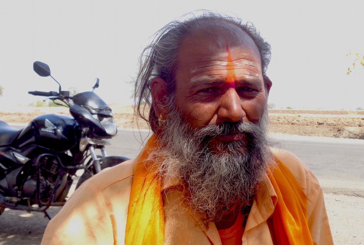 'When you are desperate for water, you keep digging,' says Dattusingh Bayas about how he has accumulated a debt of over Rs. 3 lakhs sinking eight borewells. Parth MN