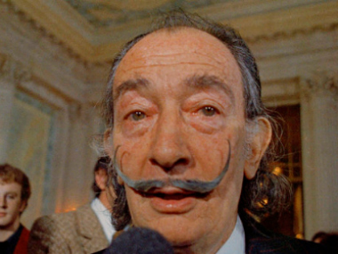 File photo of Salvador Dali. AP.