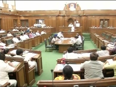 File image of the Delhi Assembly. News18