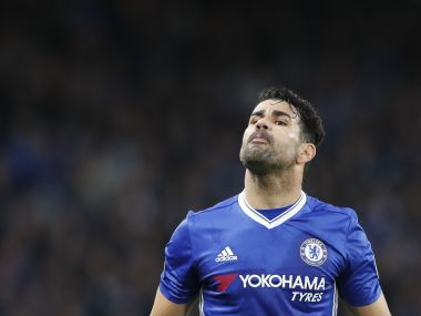 File photo of Chelsea's Diego Costa. AFP