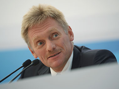 File image of Dmitry Peskov. Getty images
