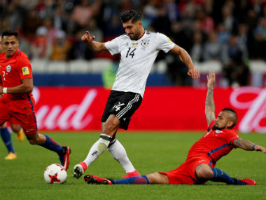File image of Germany's Emre Can. Reuters