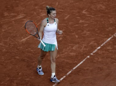 Simona Halep will become the new World No 1 if she wins the French Open title. AP