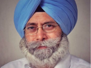 File image of Punjab Leader of Opposition HS Phoolka. Image courtesy: twitter/@hspholka