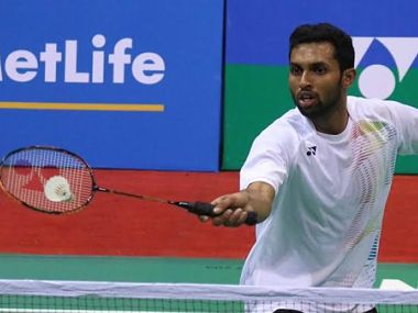File image of India's HS Prannoy. Twitter/@BAI_Media