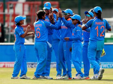 India players celebrate after victory against England. Reuters