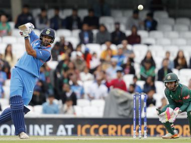 India will be wary of Bangladesh's threat in the Champions Trophy semifinal. AFP
