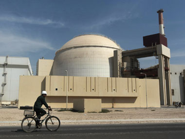 File image of Iran nuclear plant. AP