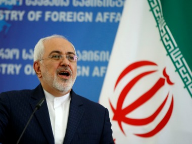 File image of Iran's foreign minister Javad Zarif. Reuters