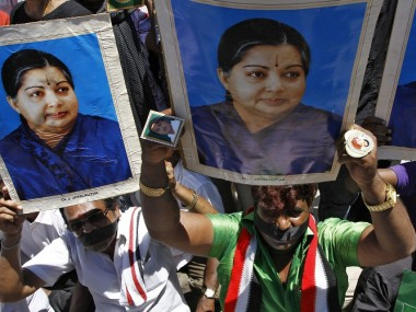 File image of AIADMK supporters. Reuters