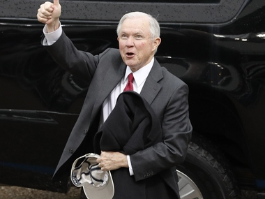 File image of Jeff Sessions.Reuters