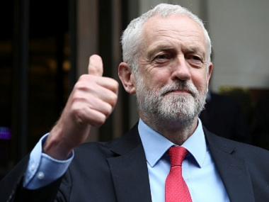File image of Britain's opposition leader Jeremy Corbyn. Reuters