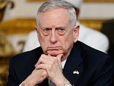 File image of James Mattis. AP