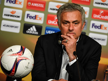 File image of Manchester United coach Jose Mourinho. Reuters