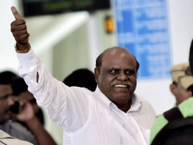 File image of retired judge CS Karnan. PTI