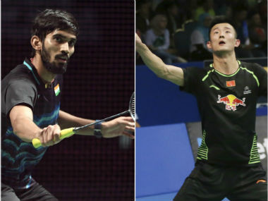 Srikanth Kidambi will take on Chen Long in the final. AP