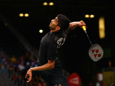 Kidambi Srikanth in action. AP