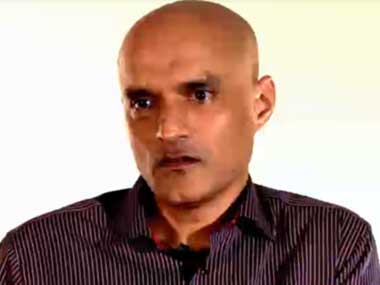 File image of the second video with Kulbhushan Jadhav. Image courtesy: Facebook/Maj Gen Asif Ghafoor