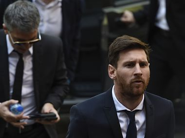 File image of Lionel Messi. AFP