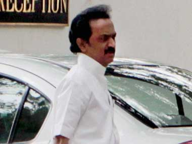 File image of MK Stalin. PTI