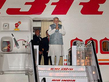 Narendra Modi will reach Washington on Sunday. PTI