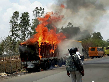 The violent protests in Madhya Pradesh are a result of a lot of recurring factors. PTI